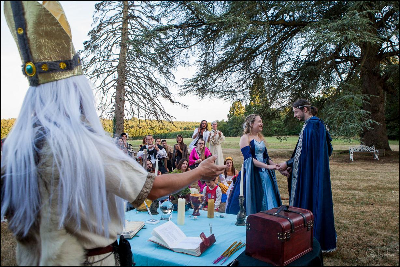 Mariage héroïque-fantaisie en Touraine