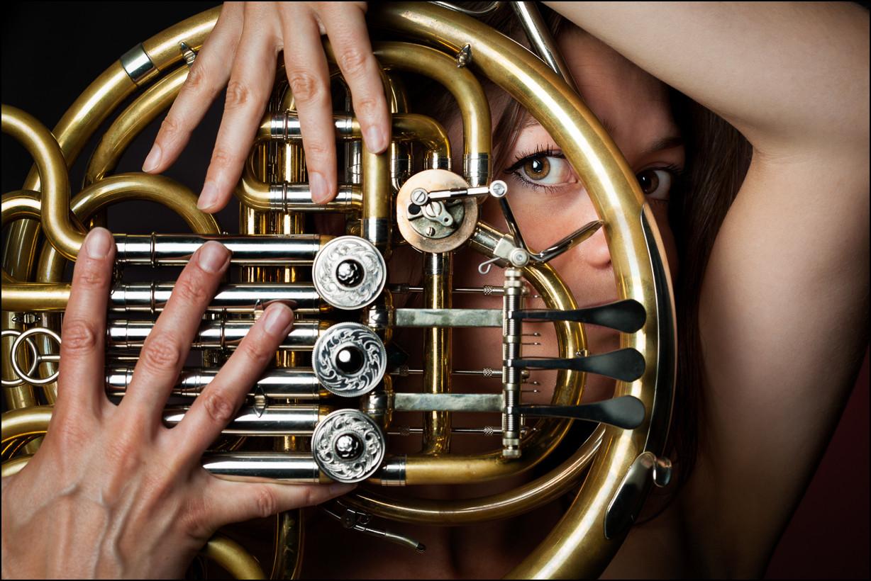 Corps à cor d'harmonie