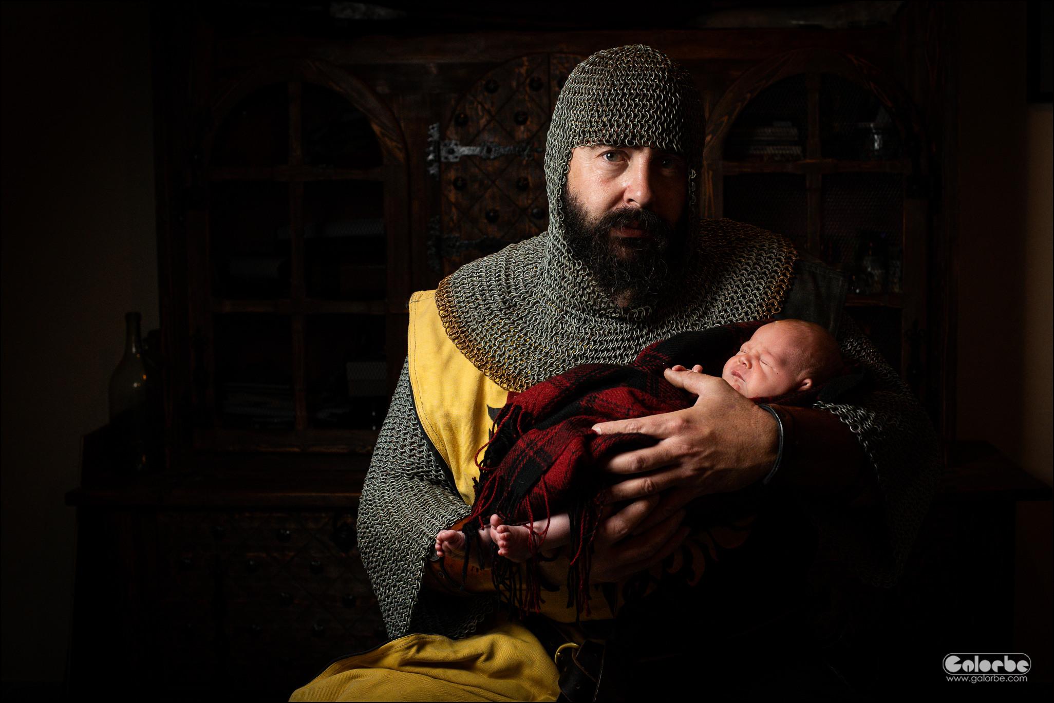 Mon papa est un chevalier