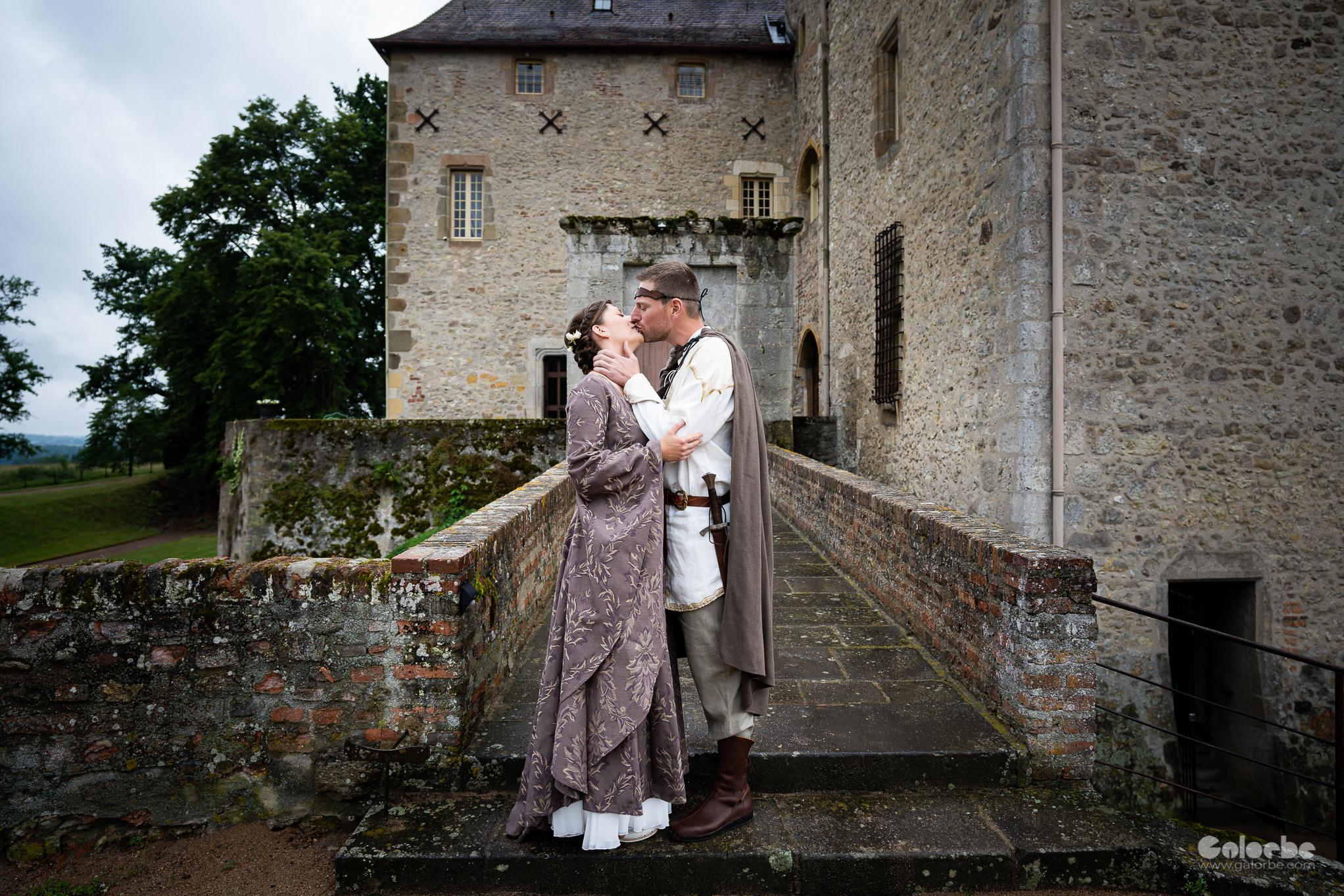 Catherine & Sebastien en Auvergne