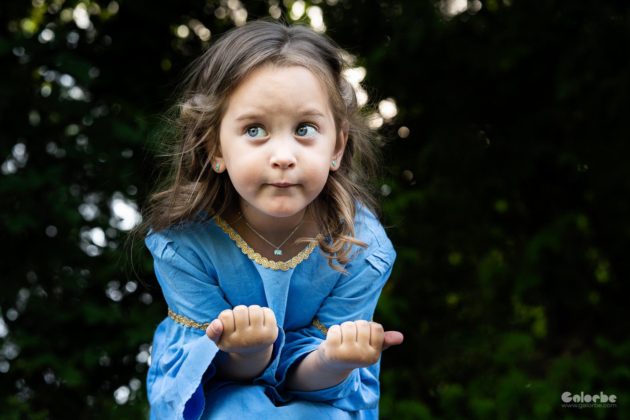 Camille, les 4 ans au moyen-âge