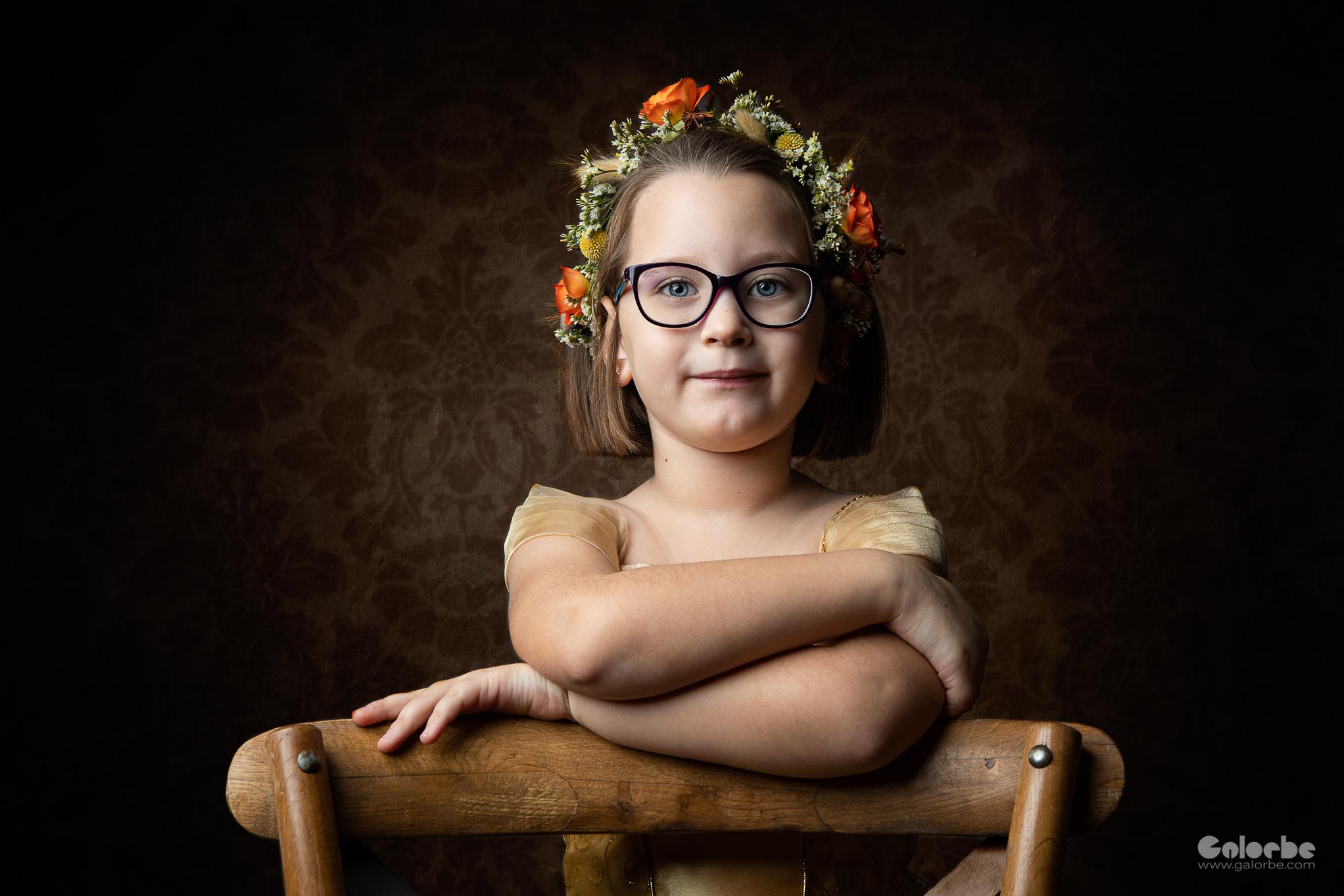Camille, les 5 ans.