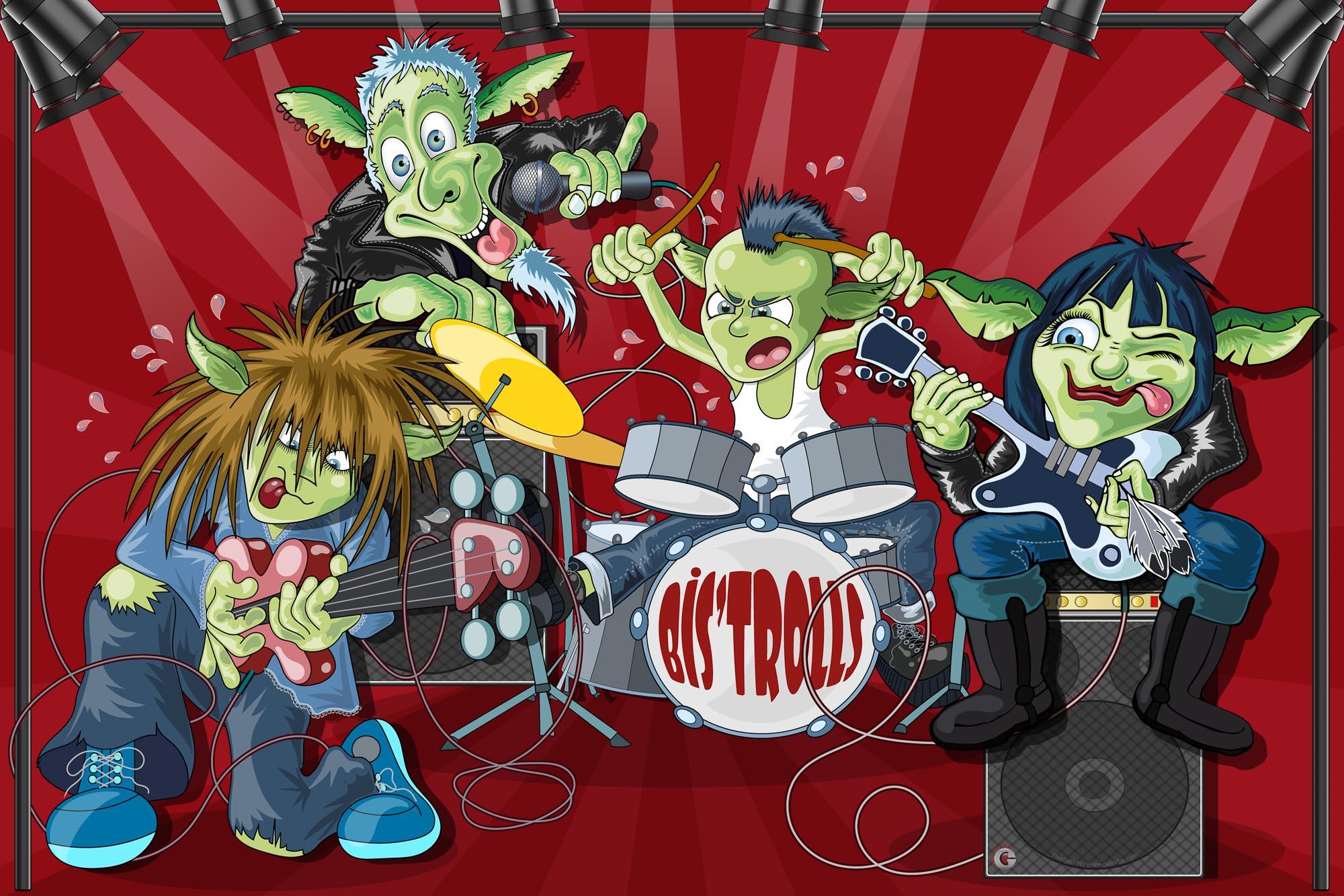 Les concerts du Bis'trolls